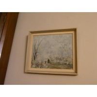"1956 Myles Meehan""Frosty mornings"" picture.SALE"