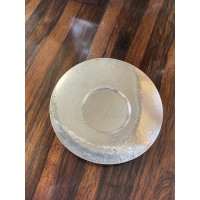 Mappin & Webb Hammered Round Dish