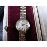 Jaeger LeCoultre backwind ladies watch 9ct gold