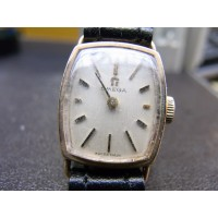 Ladies 9ct solid gold Omega .