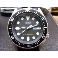 Seiko automatic midsize diver's watch